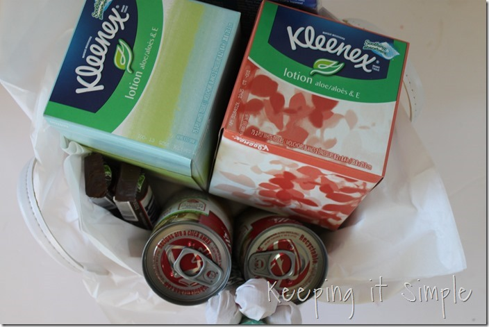 #ad get-well-gift-basket-with-Kleenex #ShareKleenexCare (31)