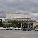 Nowosibirsk: Lenin-Platz mit der Opera / Новосибирск: Площадь Ленина с Театром Оперы и Балета