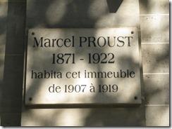 Marcel Proust 102 boulevard Haussmann