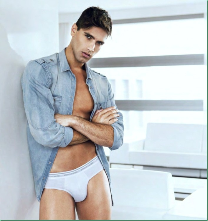 Campaign: Fabio Mancini for Pierre Cardin Underwear