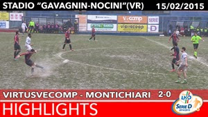VirtusVecomp - Montichiari - Highlights del 15-02-2015
