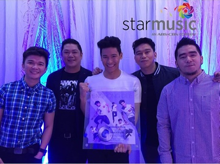 Enchong Dee's album turns platinum