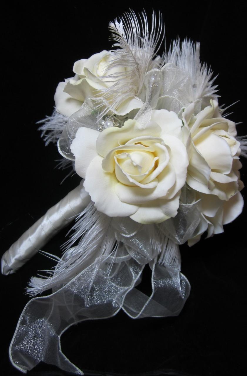 Ivory Bridal Vintage Style