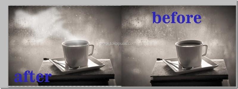 trik membuat efek asap putih photoshop tutorial efek
