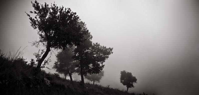 Descending from Pizzo Dipilo towards Gratteri