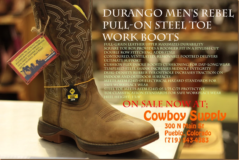 Cowboy Supply Durango Rebel boots