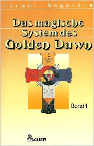 Cover of Israel Regardie's Book Das Magische System des Golden Dawn, Band 1 (in German)