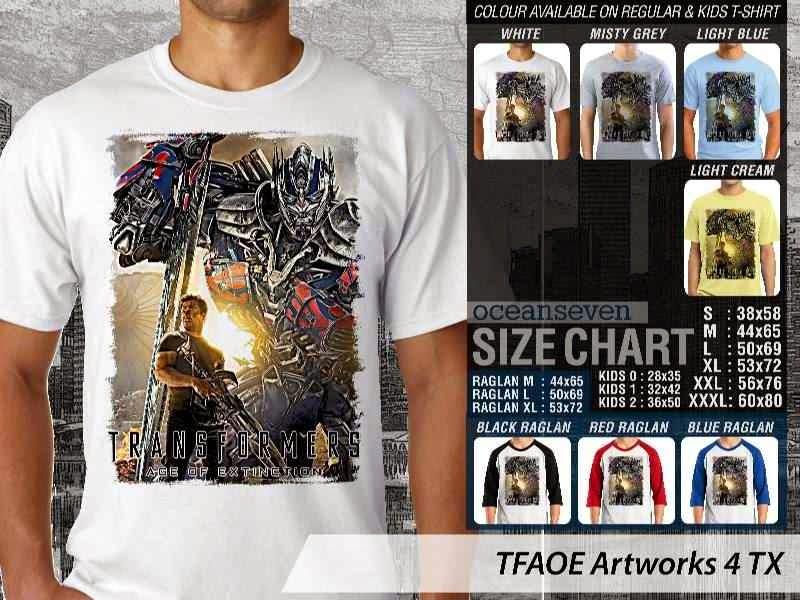 KAOS film Transformers Artworks 4 Transformers Age of Extinction distro ocean seven