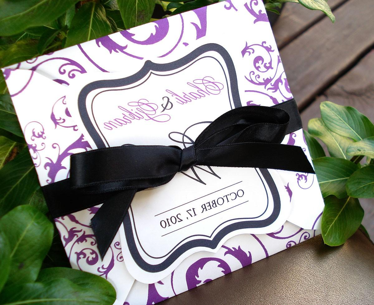 PURELY PURPLE Damask Square