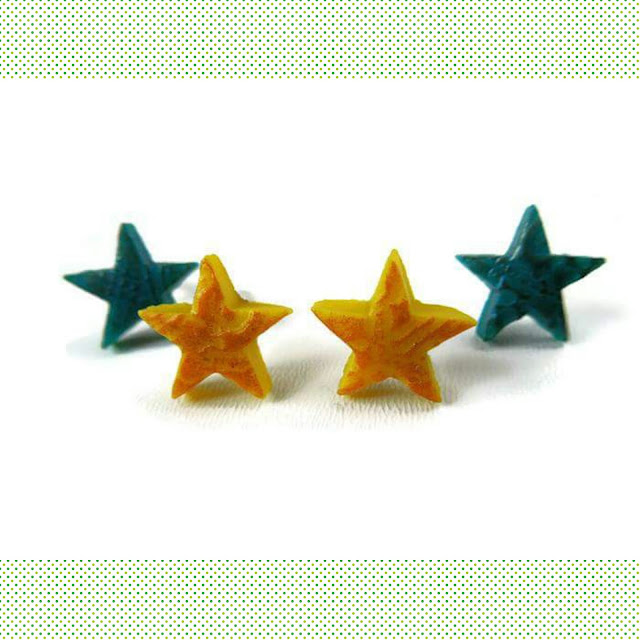 star earrings for Nepal aid