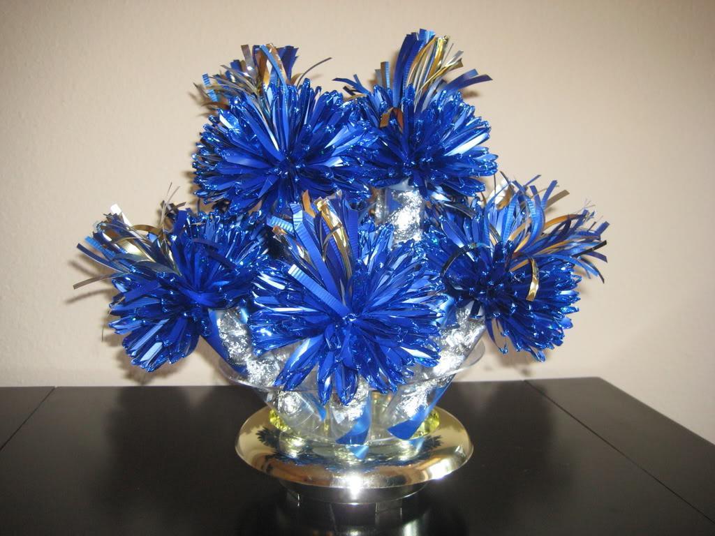 Our non-floral centerpieces