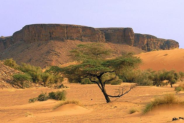 Adar Mountain Desert Landscape