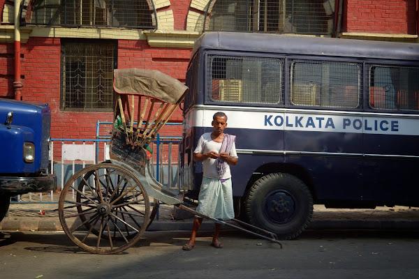 калькутта беговой рикша