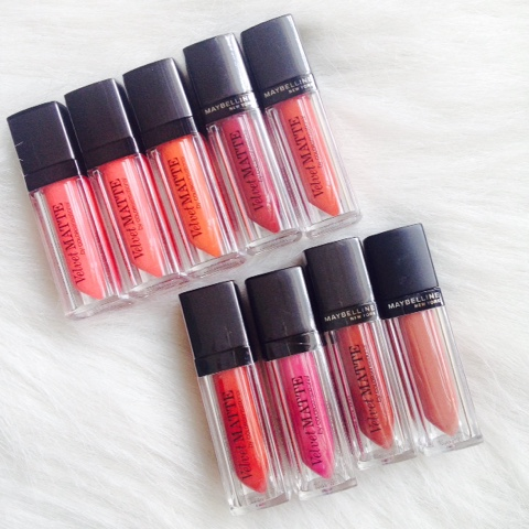 Maybelline Velvet Matte Lip Collection