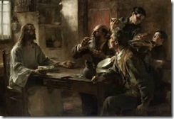Leon-Augustin-Lhermitte-xx-Friend-of-the-Humble-Supper-at-Emmaus-1892