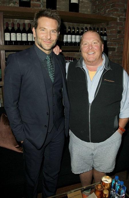 Bradley Cooper and Mario Batali - Burnt