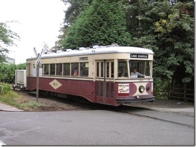 IMG_8458 Willamette Shore Trolley at Riverwood Road in Portland, Oregon on August 19, 2007
