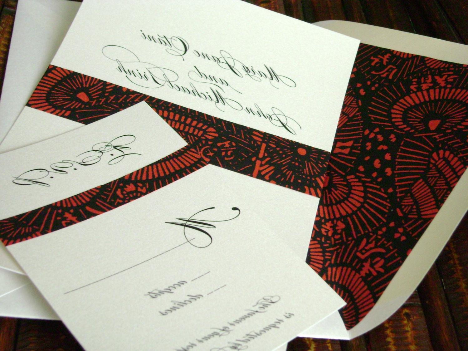 Asian Wedding Invitations with