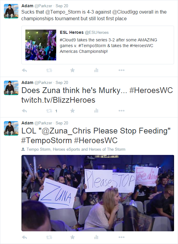 Twitter - @Parkzer - Tweets from Heroes of the Storm Americas Championship