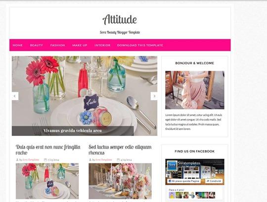 attitude-blogger-template