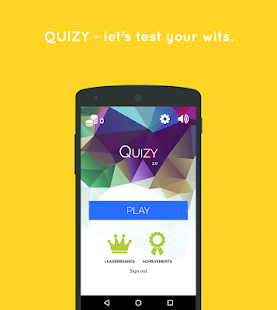 Quizy - The Best Quiz App - screenshot