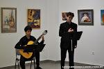 4: Carlos Martínez (guitarra) y Gonzalo Manglano (tenor) en el Acto Inaugural de la Exposición Artística en Rafelbunyol