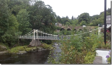 11 chain bridge over dee