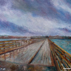 Wooden bridge, after the shower.JPG