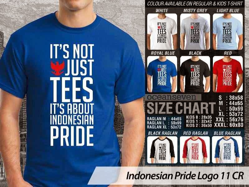 KAOS Its not just tees. Its about Indonesian Pride Indonesian Pride Logo 11 distro ocean seven