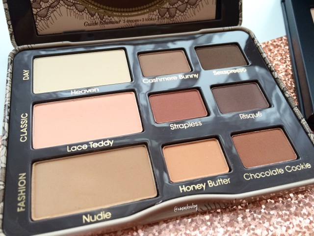 favourite eye shadow palette matte shades too faced palette NC40