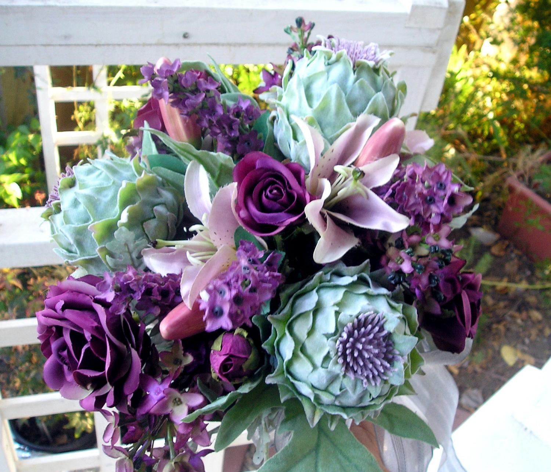 Silk Bridal Bouquet, 50
