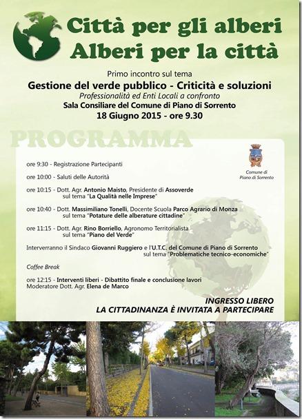 LOCANDINA - Convegno sul Verde pubblico