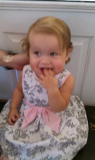 Katy At 15 Months  Wedding for