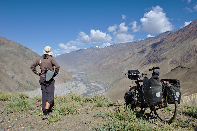 After two days on the plateau it's time to descent to the Bartang valley, which I would follow for the next 5 days.
