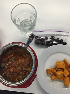 day 23 lunch chili
