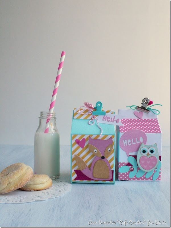 Milk box Sizzix - Big Shot Plus - Die Cutting - Packaging - Favors - Bomboniere - by cafecreativo (1)