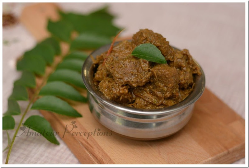 Chettinad Lamb Roast 5