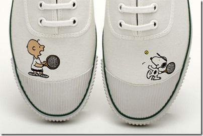 Peanuts X Bata Tennis 2015 Snoopy & Charlie Brown 02