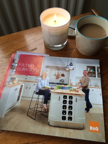 Emma Clement Little House Lovely in the B and Q Kitchens brochure