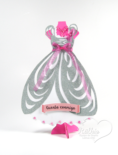 Octubre Rosa - Latinas Arts and Crafts - Ruthie Lopez