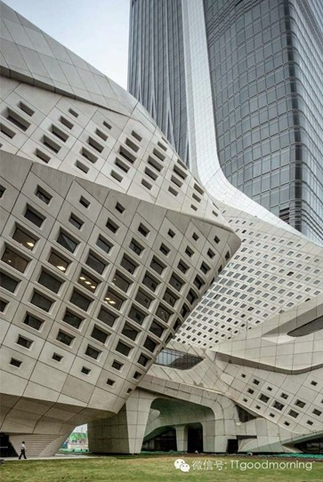 Nanjing Youth Olympic Centre - Zaha Hadid