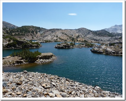 Saddlebag Lake CA-Hike