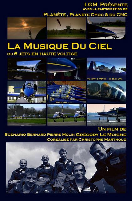 Podniebna muzyka. Akrobacje odrzutowców / La Musique du Ciel (2006) PL.TVRip.XviD / Lektor PL