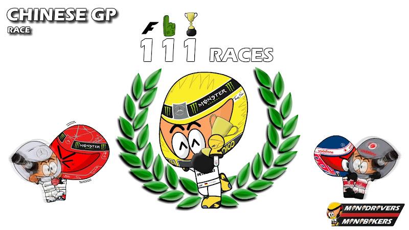 Нико Росберг победитель Гран-при Китая 2012 - Los MiniDrivers