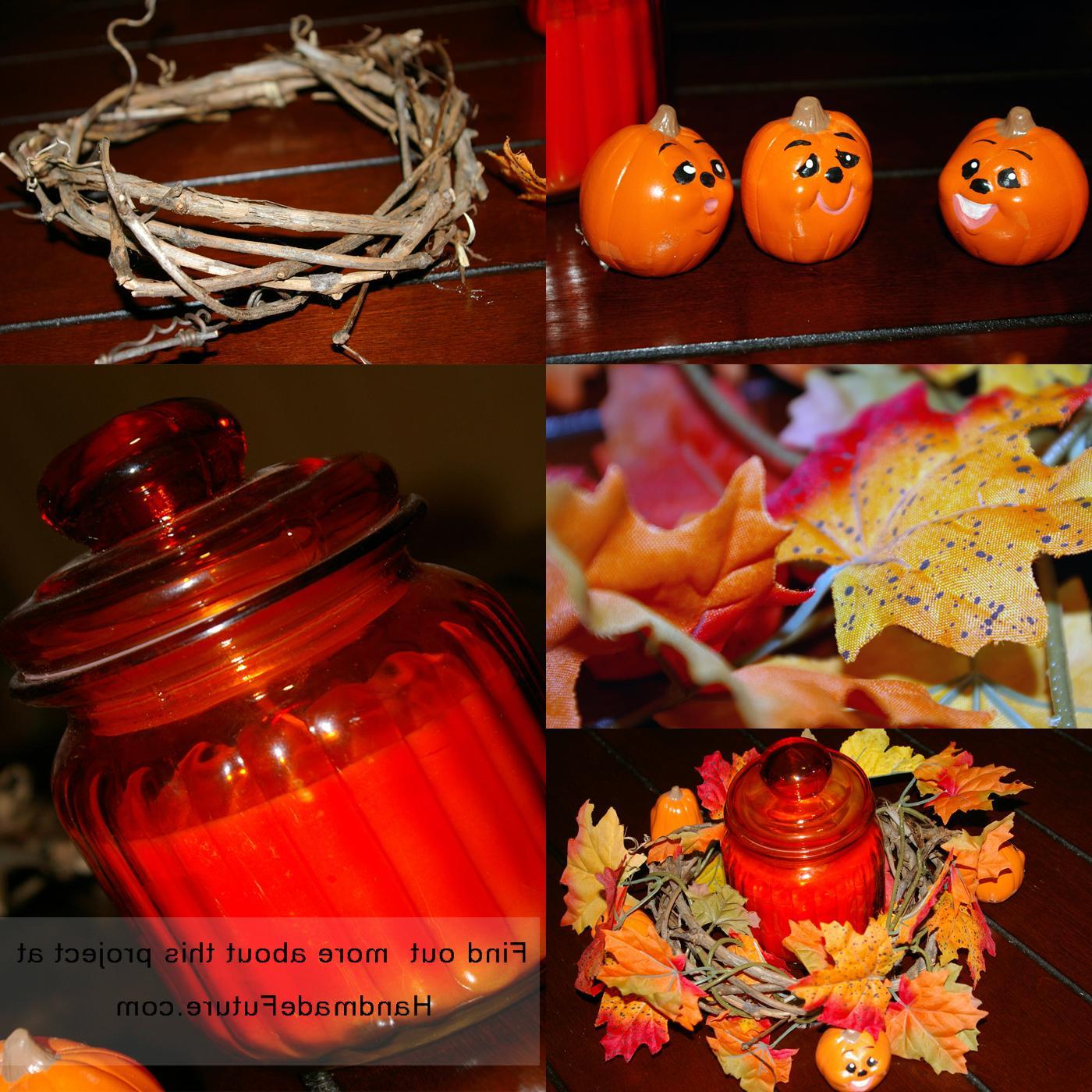 Step 3: Arrange the pumpkin