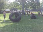 Mine and Sara's turn on tires.