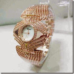 jual jam tangan wanita Chopard 5602 murah Rosegold
