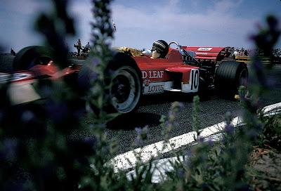 Йохен Риндт за рулем Lotus 72 на Гран-при Нидерландов 1970
