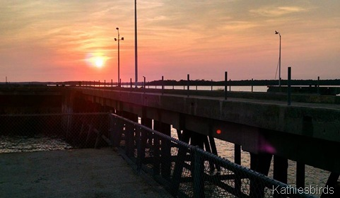 17. sunset at the pier 9-1-15