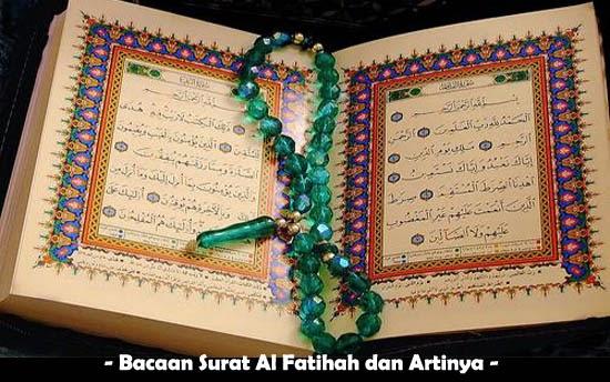 Bacaan Surat Al Fatihah Dan Artinya Marneskliker